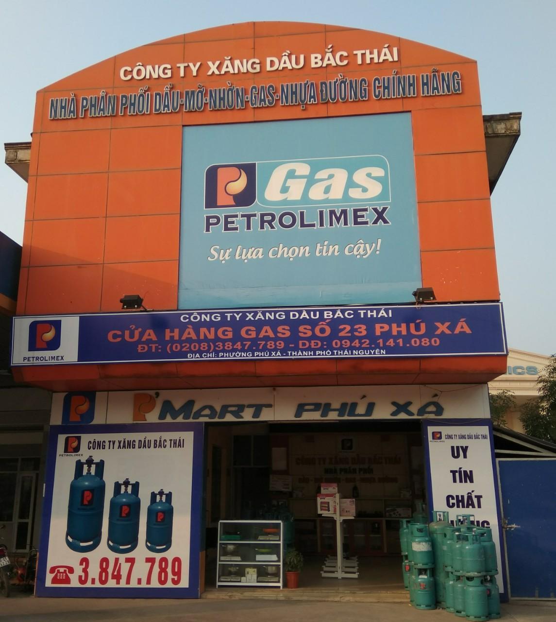 Cửa hàng Gas Petrolimex số 903 đường 3/2 p. Phú Xá Tp Thái Nguyên