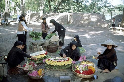 Nao lòng trước vẻ bình dị của những phiên chợ Hà Nội xưa